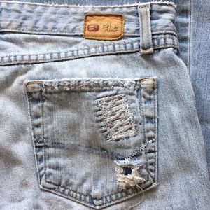 "BKE ""STAR"" Wide Leg Flare Bootcut Jeans 30 X 33.5"""